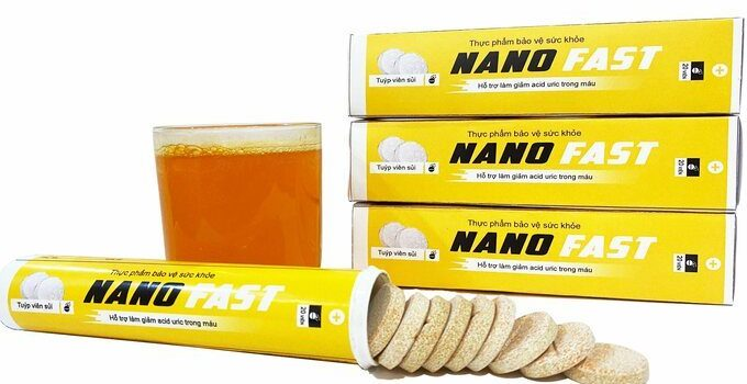 Viên sủi NANO FAST chữa gout có tốt không? Giá bao nhiêu? Mua ở đâu 2020?