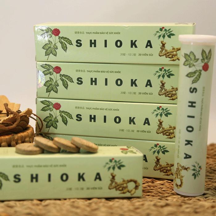 [REVIEW] Viên sủi u xơ SHIOKA có tốt không, mua ở đâu, giá bao nhiêu?