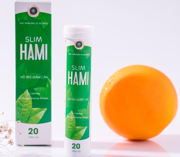 Viên sủi giảm cân Slim Hami có tốt không, giá bao nhiêu, mua ở đâu?