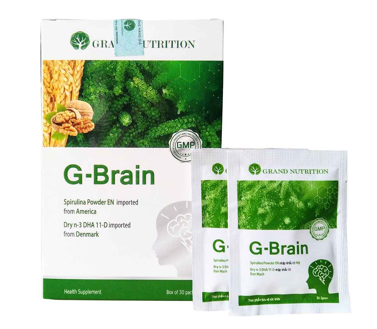 [REVIEW 2021] Cốm trí não G BRAIN có tốt không, giá bao nhiêu, mua ở đâu?