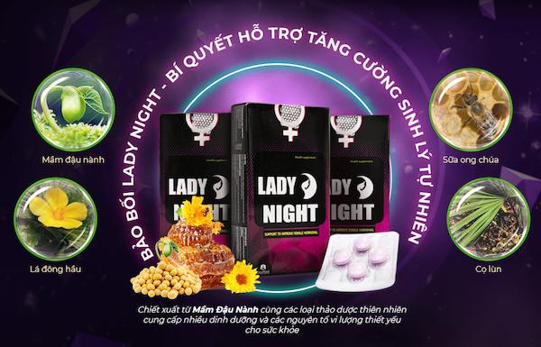 [VẠCH TRẦN] Viên ngậm Lady night bán ở đâu? Giá bao nhiêu tiền?