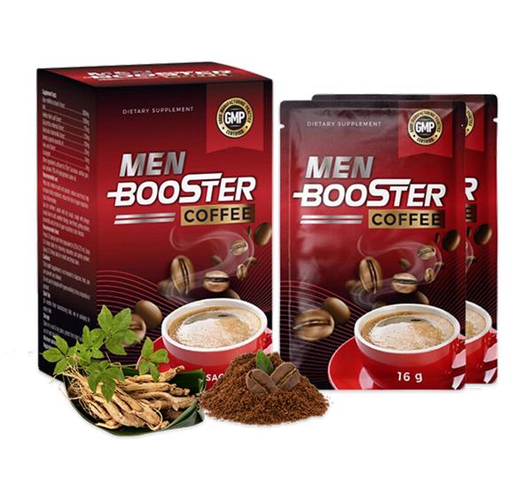 [VẠCH TRẦN] Men Booster Coffee bán ở đâu? Giá bao nhiêu?
